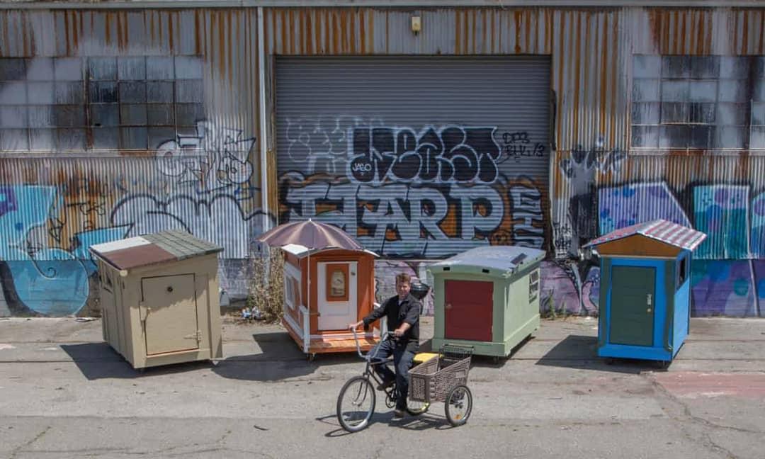 خانه های موقت برای افراد بی خانمان