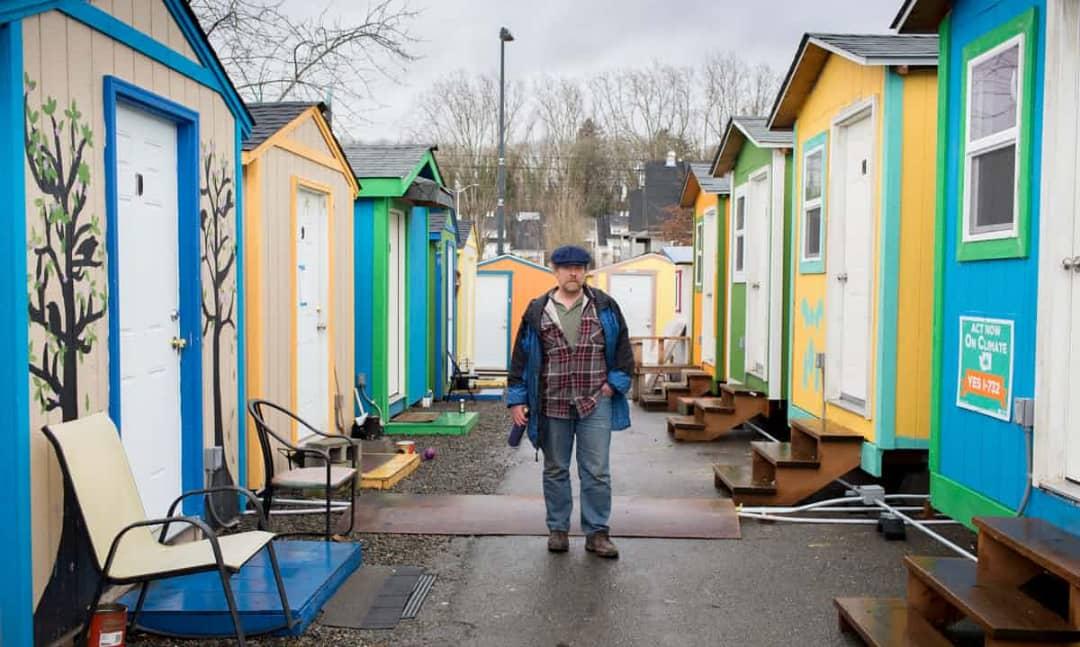 خانه های پیش ساخته مخصوص بی خانمان ها